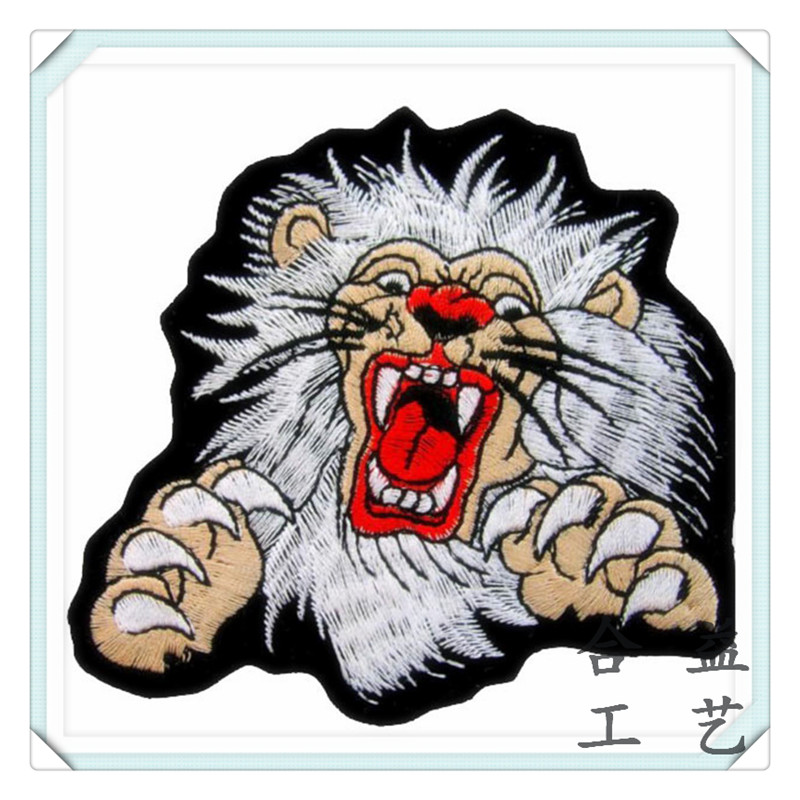 动物刺绣徽章